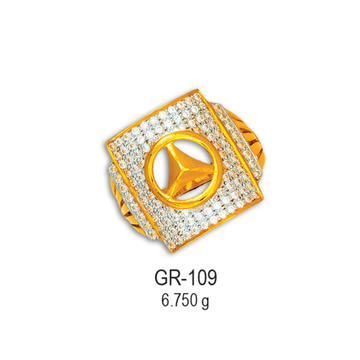 916-Gold-Fancy-CZ-Diamond-Gents-Ring-GR-109