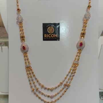 916 gold broch mala by