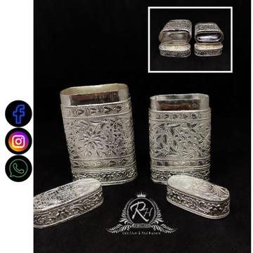 silver tobbaco box khaini daba RH-TD477