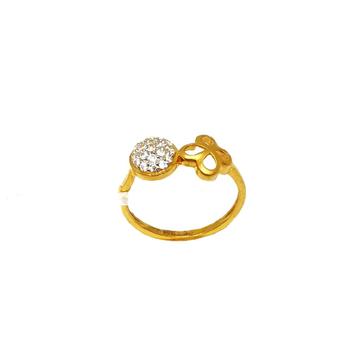 22K Gold Round Shaped Ring MGA - LRG0444