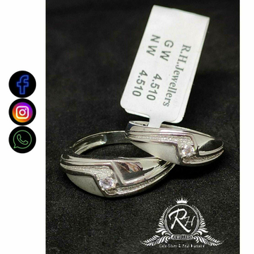 92.5 Silver Couple Rings RH-CR761