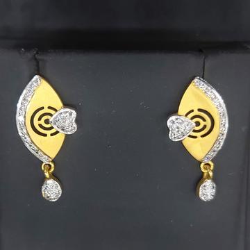 Fancy cz earring by Parshwa Jewellers