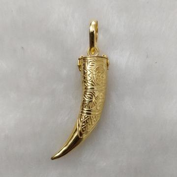 916 Gold Gent's Fancy Pendant