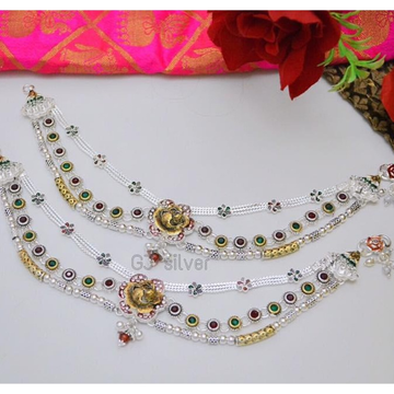 Silver Regular Wear Payal RH-Sp07