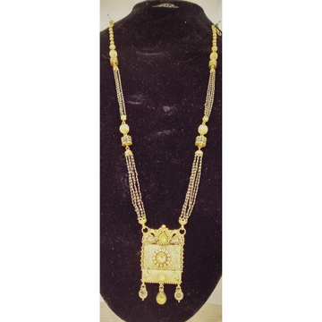 916 Gold Antique Jadtar Long Mangalsutra by
