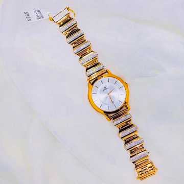 DESIGNING FANCY GOLD WATCH FOR MEN