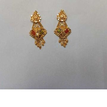 18kt Gold Designer Ladies Earrings