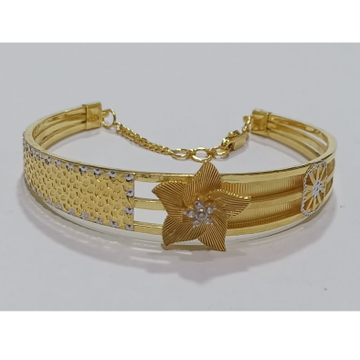 916 gold flower design bracelet sg-b03