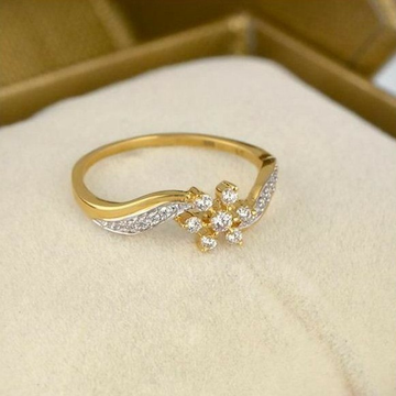 22KT/ 916 Gold fancy delicate casual ware ring for... by