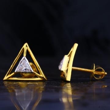 22 carat gold designer  ladies earrings RH-LE720