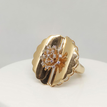 18 kt Rose Gold Ring by