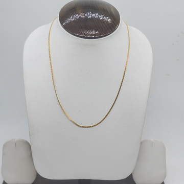 22k gold Chian in light weight for gifts by