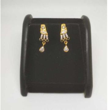 22 K Gold Fancy Earring. NJ-E0937