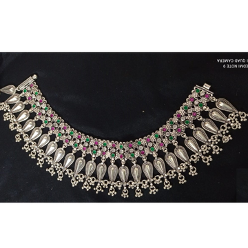 925 Pure Silver Antique Payal Handmade PO-208-26