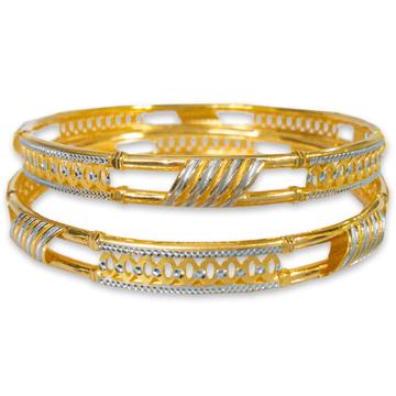 BEAUTIFUL GOLD COPPER KADLI BANGLE by