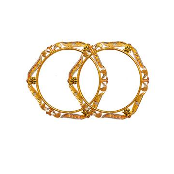 22KT Gold Antique Copper Kadli RJA-008