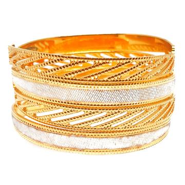 1 gram gold forming designer bangles mga - bge0431