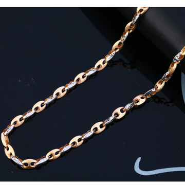 18KT Rose Gold exclusive Men's Chain RMC103