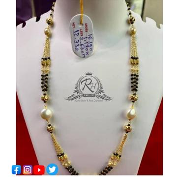 22 carat gold ladies mangalsutra RH-MN560