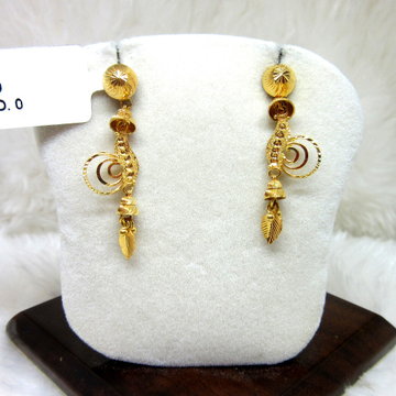 Gold Classic Earring by
