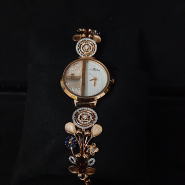 BRANDED FANCY ROSE GOLD LADIES WATCH