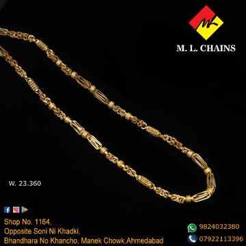 916 Gold Chain For Men ML-C12