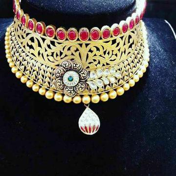916 Bridal Antique Chokar Set