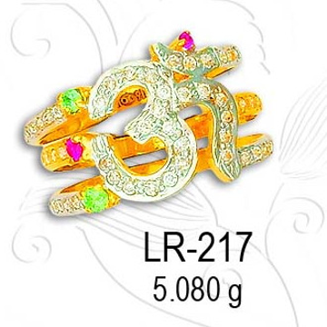 916 lADIES RING LR-217