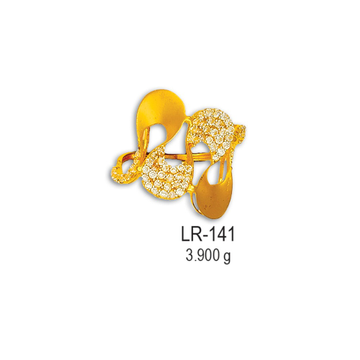 CZ-Gold-Ladies-Ring-LR-141