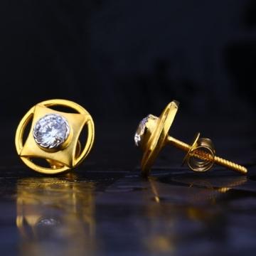 22 carat gold ladies earrings RH-LE734