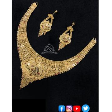 22 carat gold necklace set RH-nS356