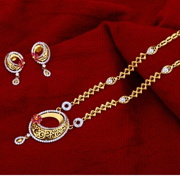 916 Gold  Womens   Chain Necklace CN99