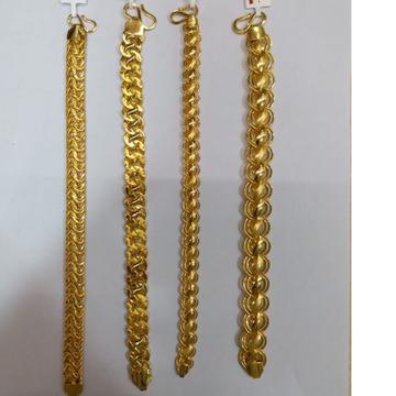 916 Gold  indo Light weghit hand chain lucky BR-0001