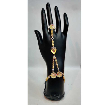 916 Fancy 1 Ring Hand Fool H-58524