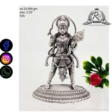 silver hanumanji murti RH-PI746