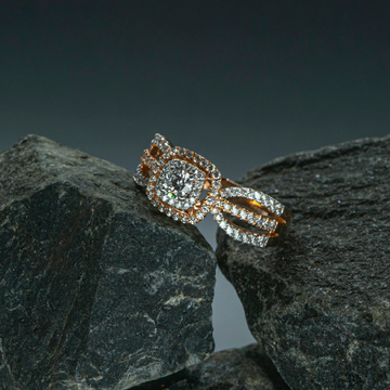 Trendy ladies Daimond Ring by