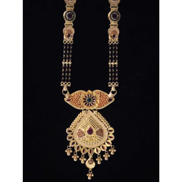 22 K Gold Antique Mangalsutra. NJ-M01122