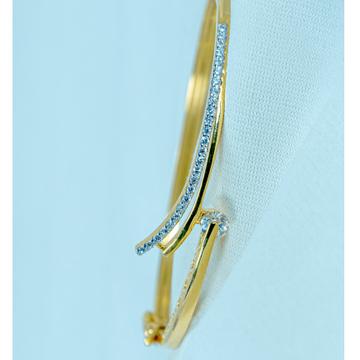 916 gold plain bracelet lb1-523 by