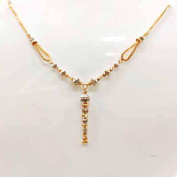 22 Carat gold ladies fency chain  RH_GR121