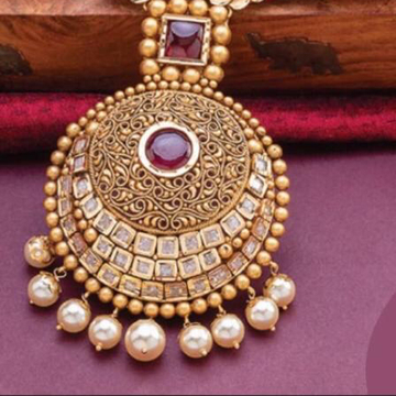 Exquisitely made piece of 22kt antique mangalsutra