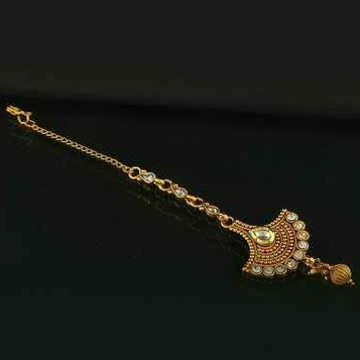 22KT / 916 Gold Traditional wedding Mang tikka for... by