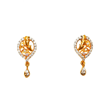 22K Gold Designer Earrings MGA - BTG0259