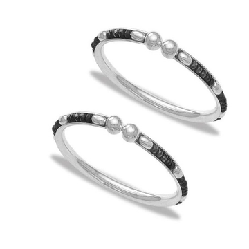 Silver 925 sterling new born bangle for kids rj-s9b01