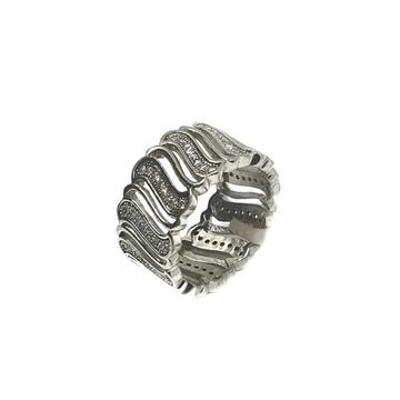925 Sterling Silver Thumb Ring MGA - LRS0134