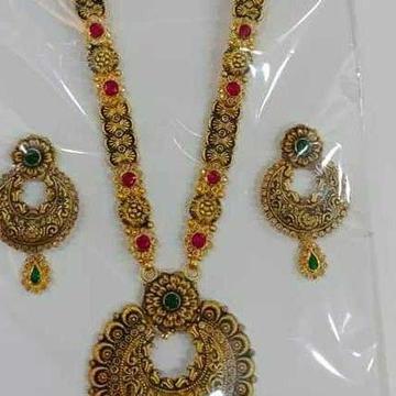 22ct Fancy Necklace Set by Vipul R Soni