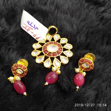 Prachi Kundan Pendant Set#940
