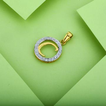 916 C Letter Gold Pendant-LP04