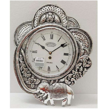 Designer and Pure Silver Wall Clock (Nakashii Work...