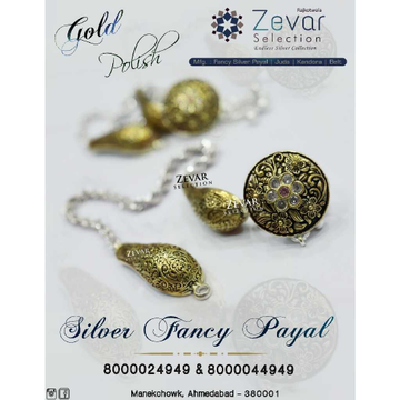 Silver Gold Polish Concept Payal