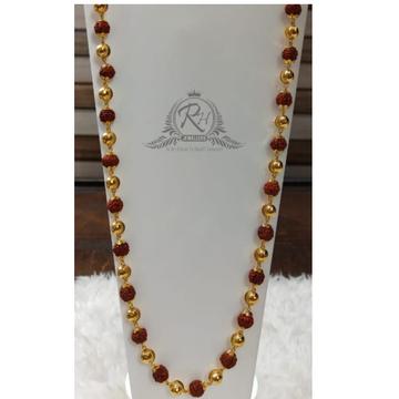 22 carat gold shivaay rudraksha mala Rh-ML403